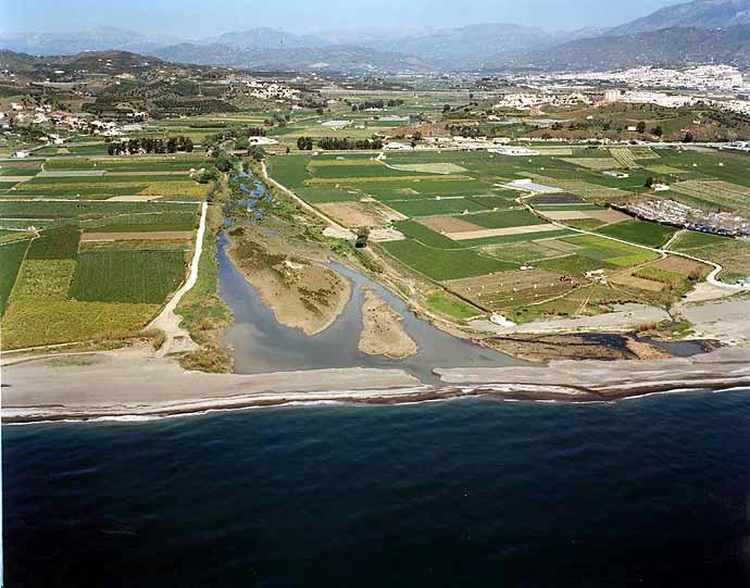 Almayate beach