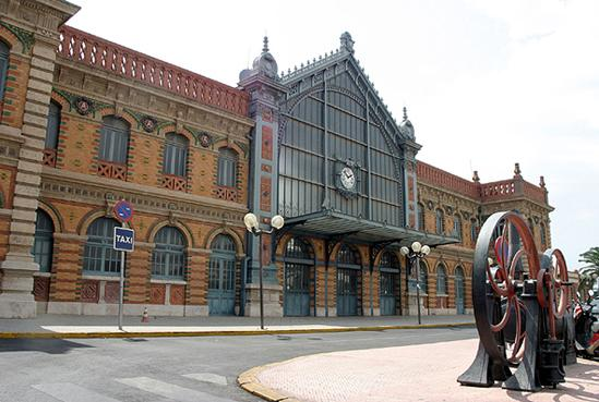 Antigua Estación de Ferrocarril de Almería