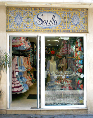 Tienda Flamenca Sevilla