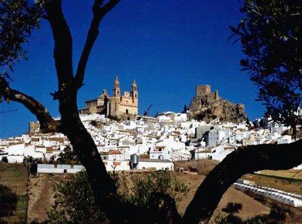 Les Villages Blancs. Cadix et Málaga