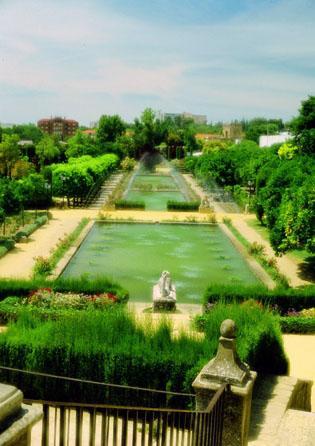 Cordoba und Jaen Garten
