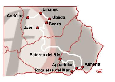 The Las Minas Route