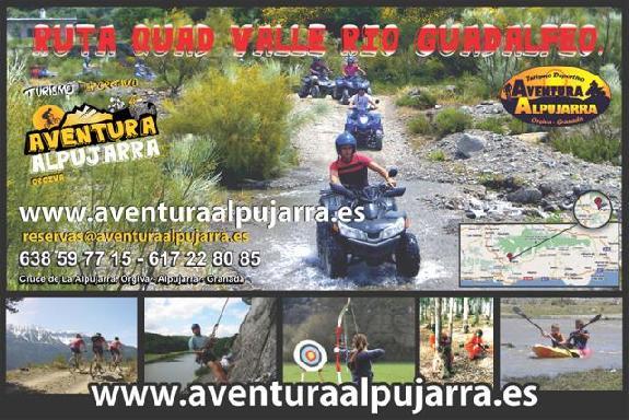 Hamelin: Aventura Alpujarra - Actividad  (Órgiva)