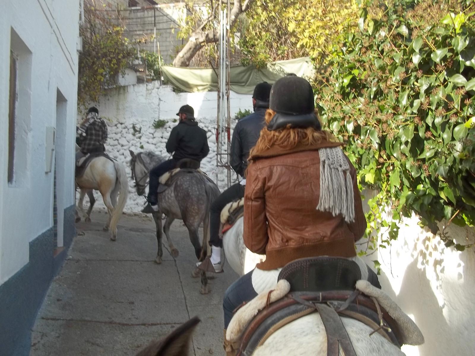 Hamelin: Palmali Rutas Ecuestres - Actividad  (Albuñuelas)