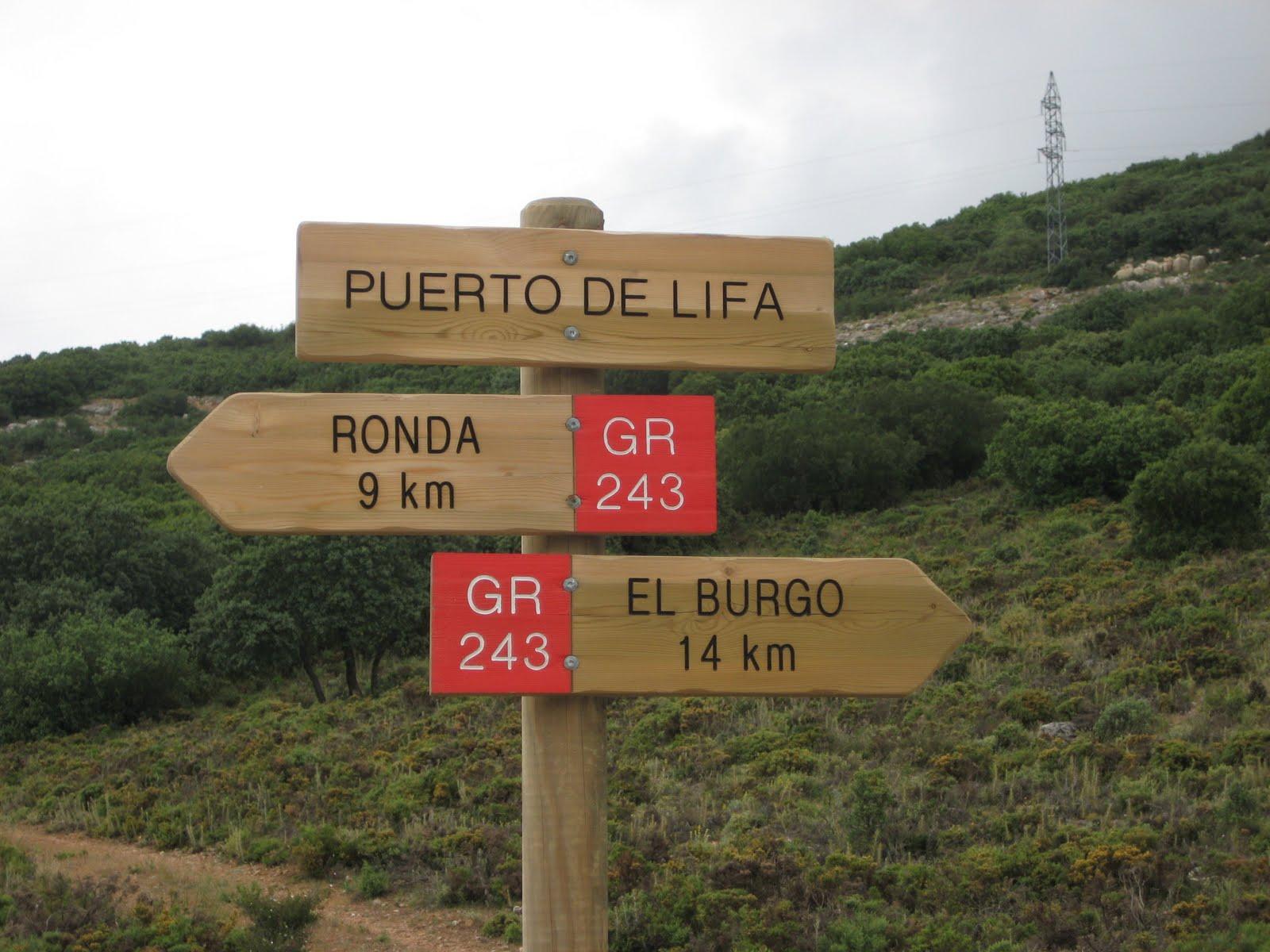 Sierra de las Nieves Trail - GR 243