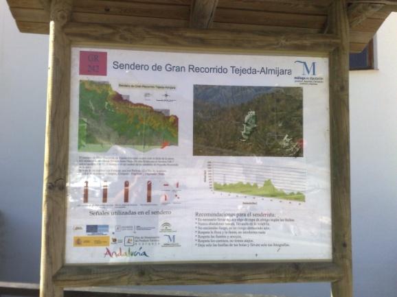 Sierras de Tejeda–Almijara Long-distance Trail - GR 242