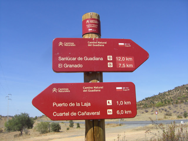 Guadiana Nature Trail - GR 114.