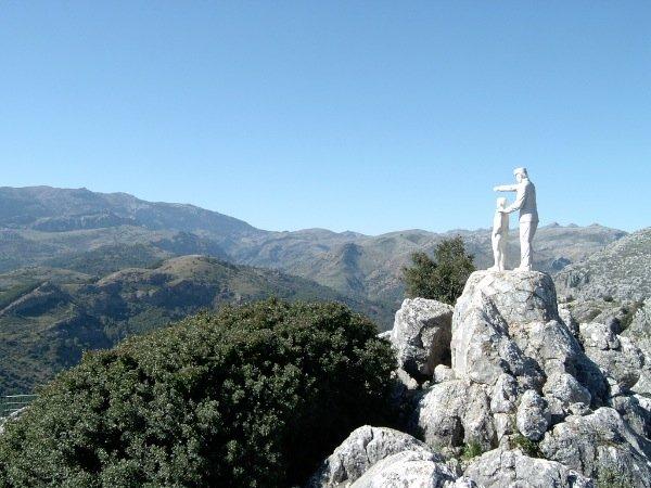 Mirador Cuenca del Río Turón - Mirador del Guarda Forestal