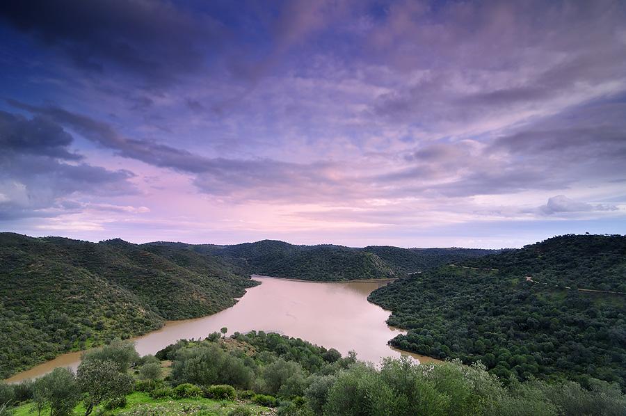 Sentier de la Route de l'eau Guillena - PR-A 218