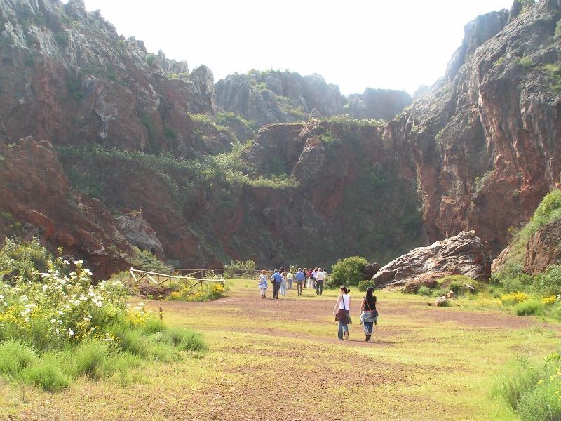 Hamelin: Cerro del Hierro Activities - Actividad  (Constantina)