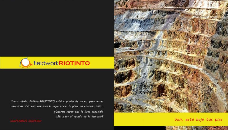 Hamelin: Fieldwork Riotinto - Actividad  (Minas de Riotinto)