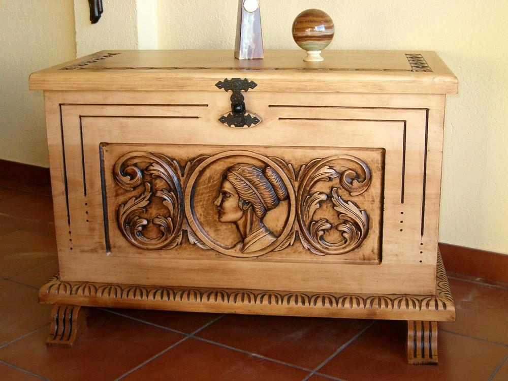 Carving and cabinet-making