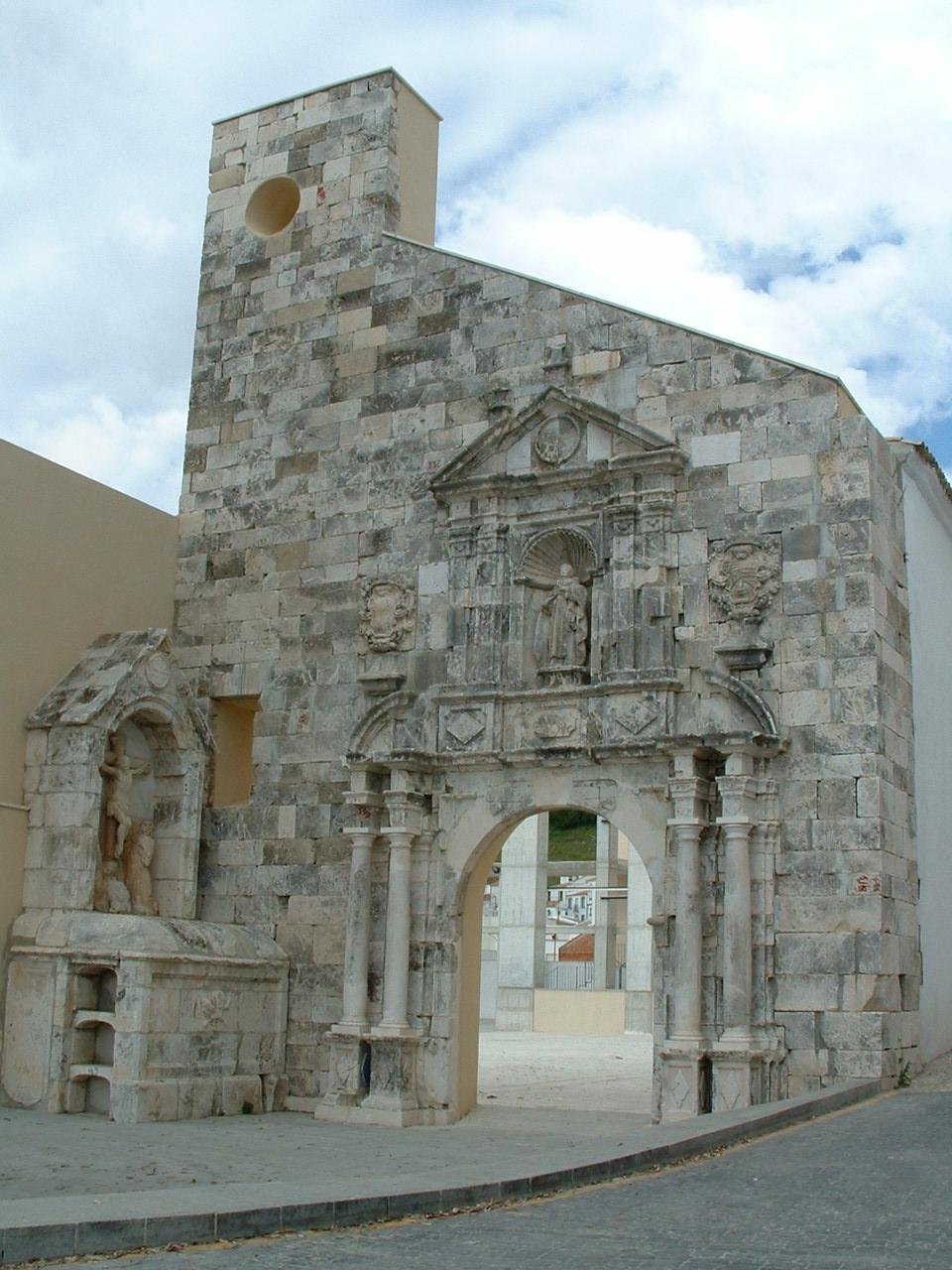 Portada antigua Iglesia Nuestra Señora de la Consolación