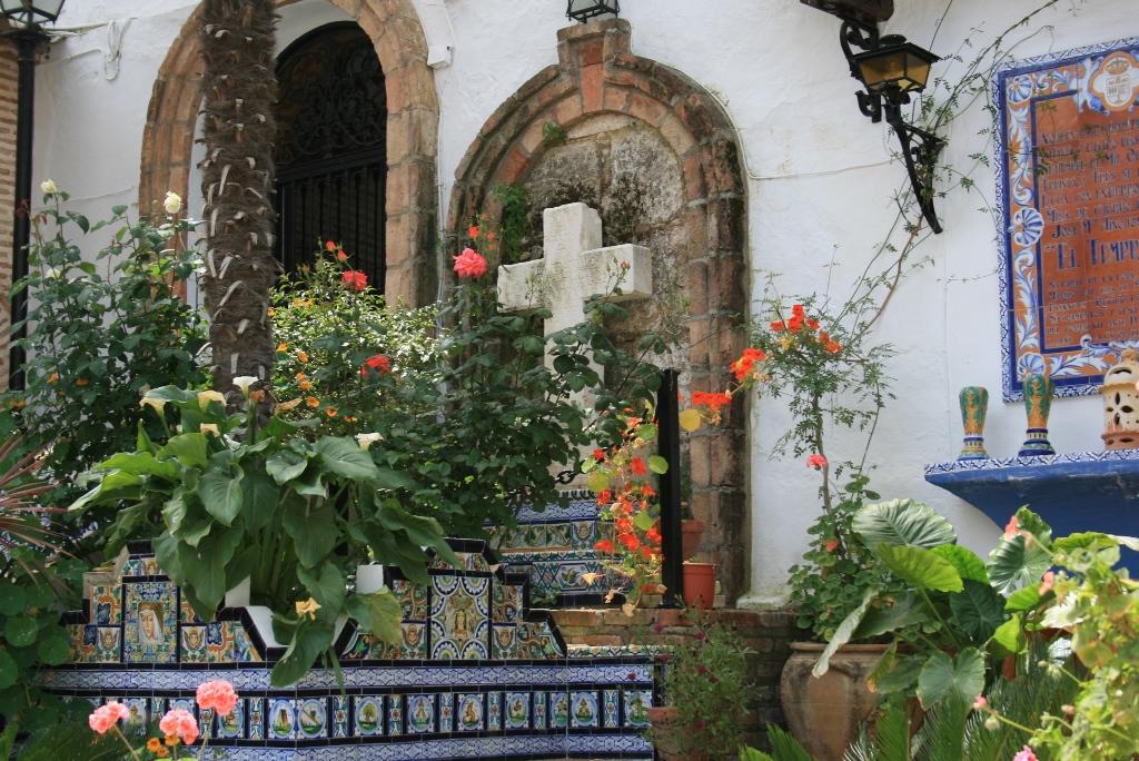 Patio Mausoleo de José María El Tempranillo