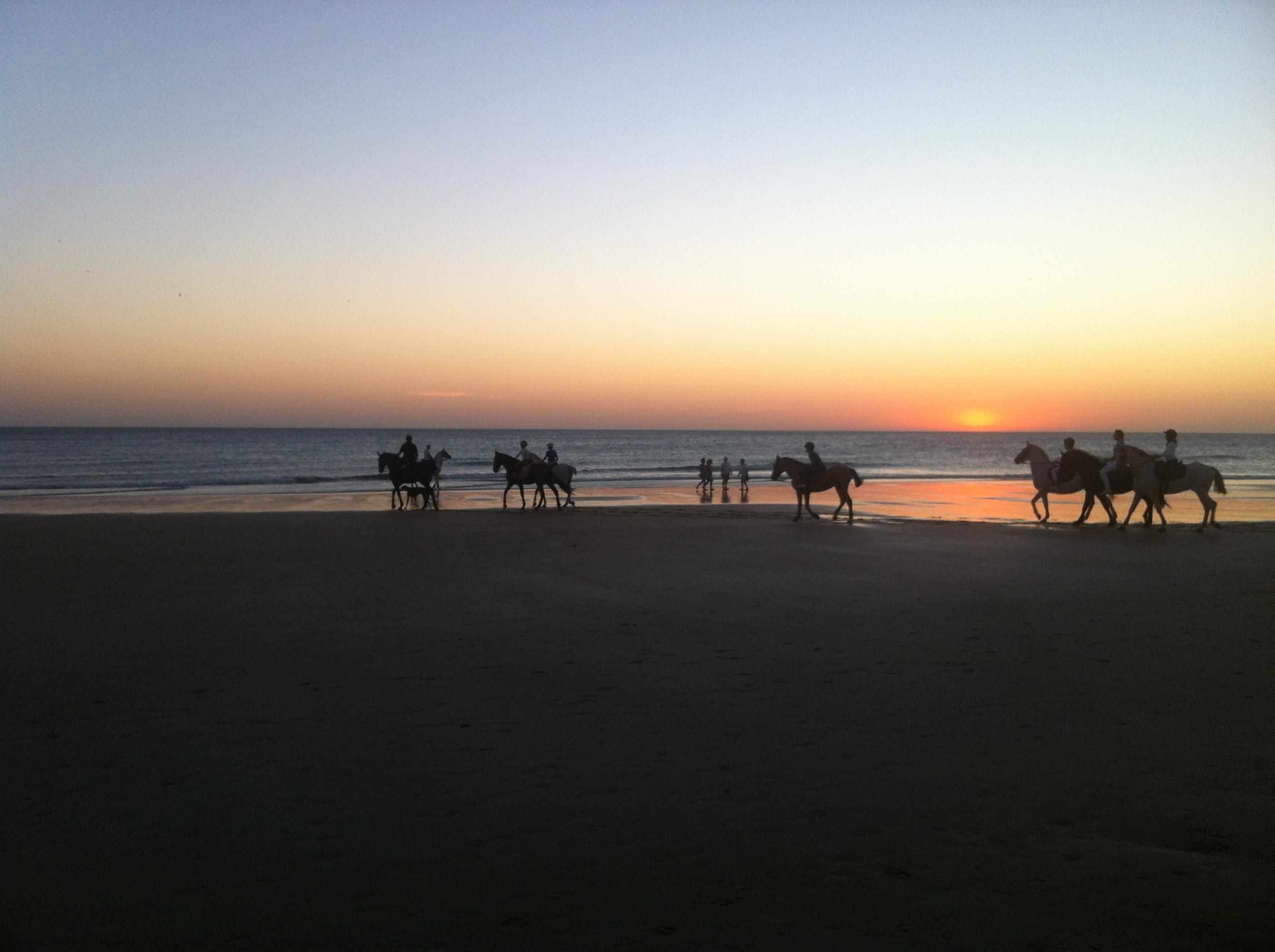 Ausritt zu Pferd