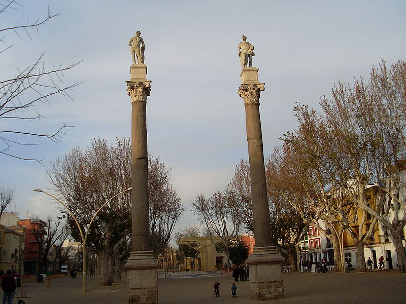 Monolitos y Columnas Romanas