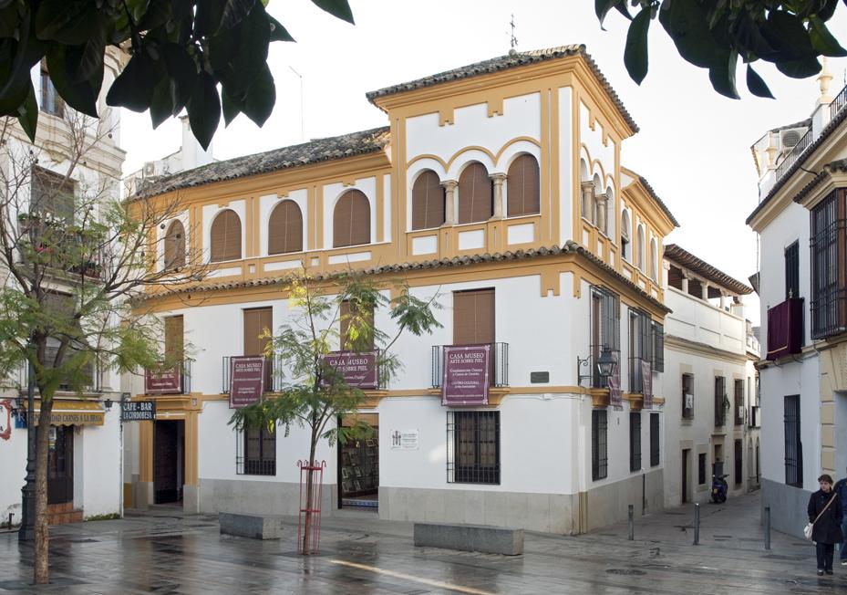 Arte sobre Piel - Casa Ramón García Romero, Guadamecíes Califales y Cordobanes