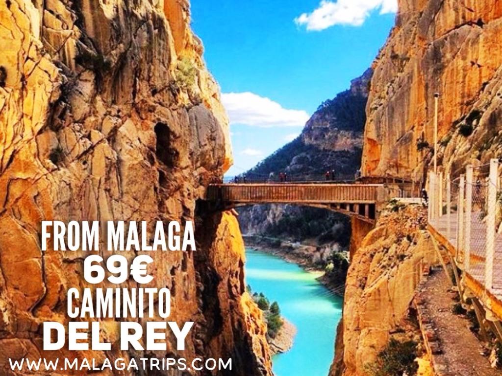 Excursión Caminito del Rey desde Málaga