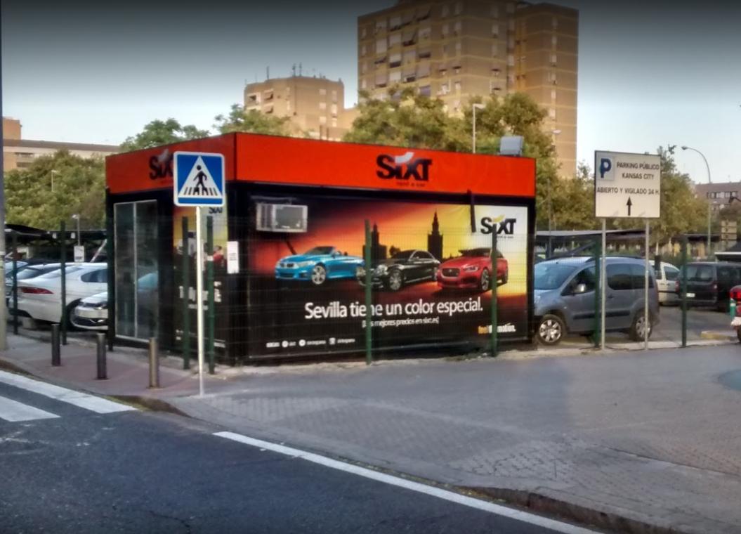 Sixt Rent a Car Sevilla Santa Justa