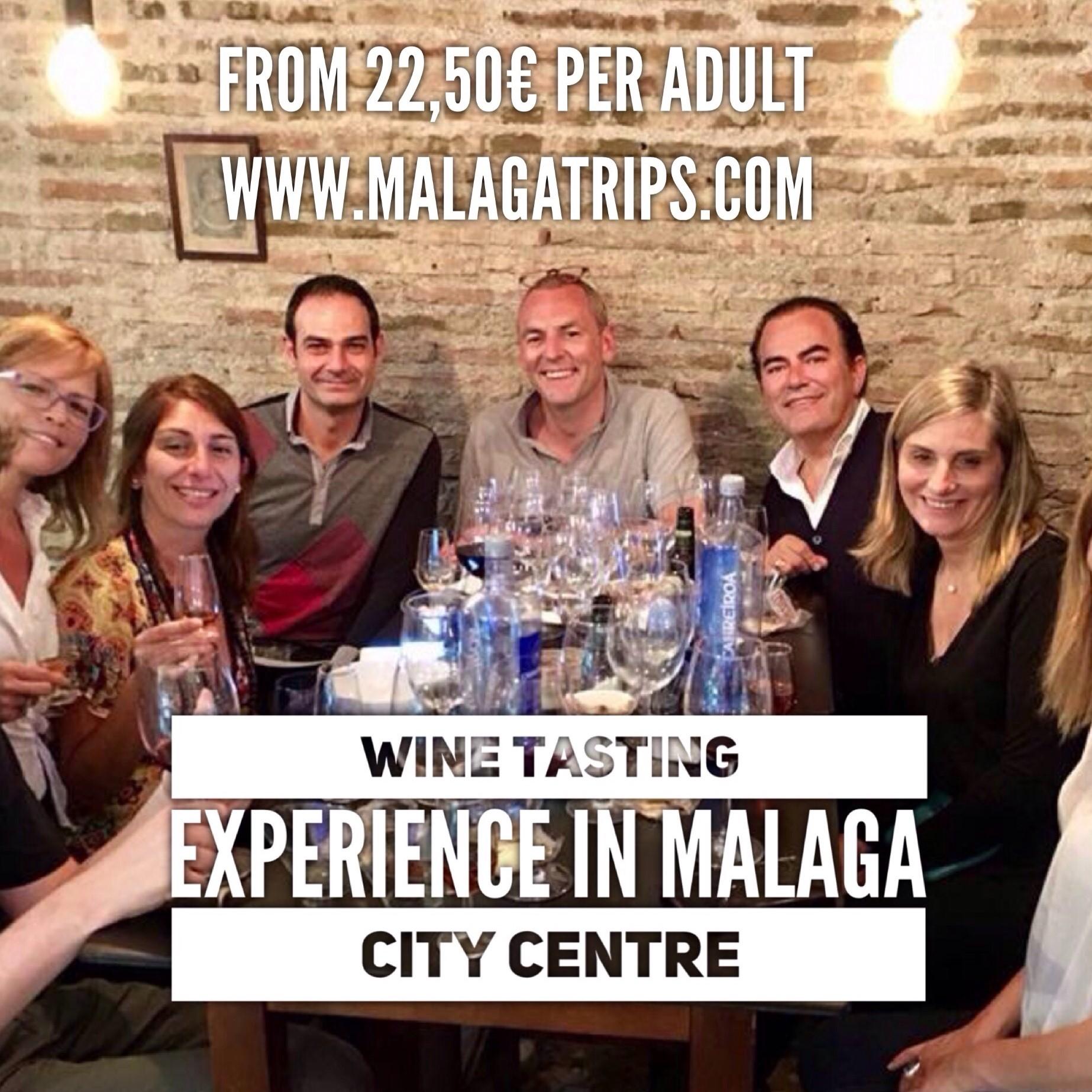 Cata de Vinos en el Centro de Málaga