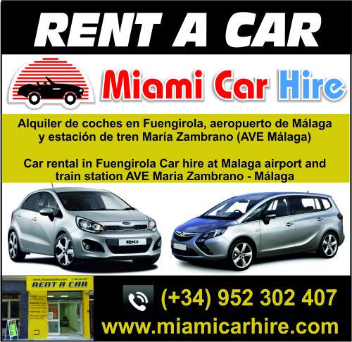 Miami Car Hire Málaga