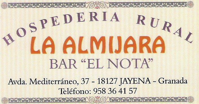 Hospedería La Almijara