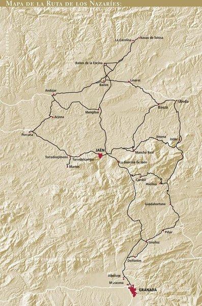 Ruta de los Nazaríes