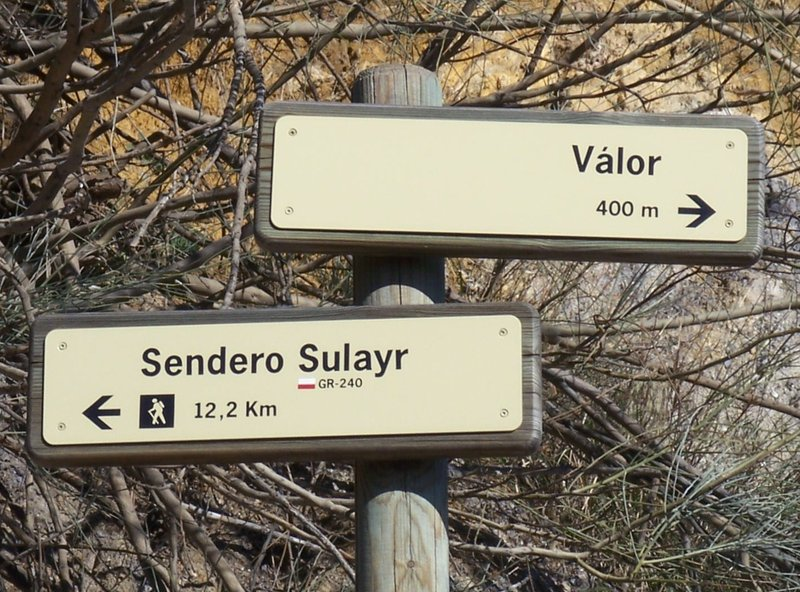 Sendero Sulayr - GR 240