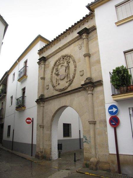 Portada del Palacio del Caballerizo Ortega