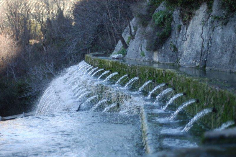 Monumento Natural Fuente de los Cien Caños - Nacimiento del Río Guadalhorce