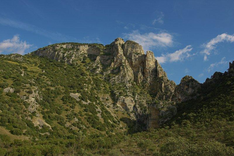 Monumento Natural Peñón de Zaframagón