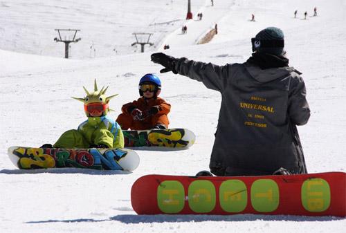 Hamelin: Escuela Universal de Esquí - Actividad  (Sierra Nevada)
