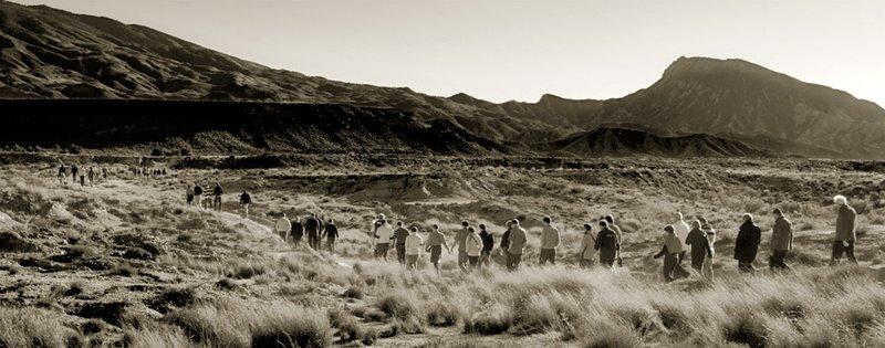 El Desierto de Tabernas a caballo, de película.