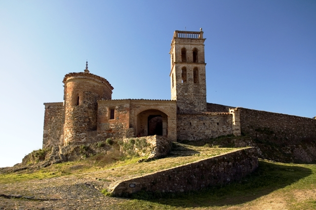 Castillo Mezquita de Almonaster la Real