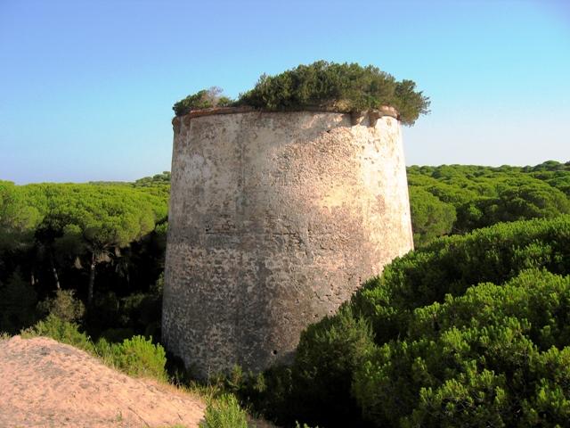 Torres almenaras de Huelva