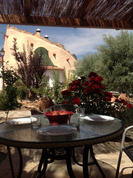 Stay in a cave in the Guadix region in the province of Granada.
