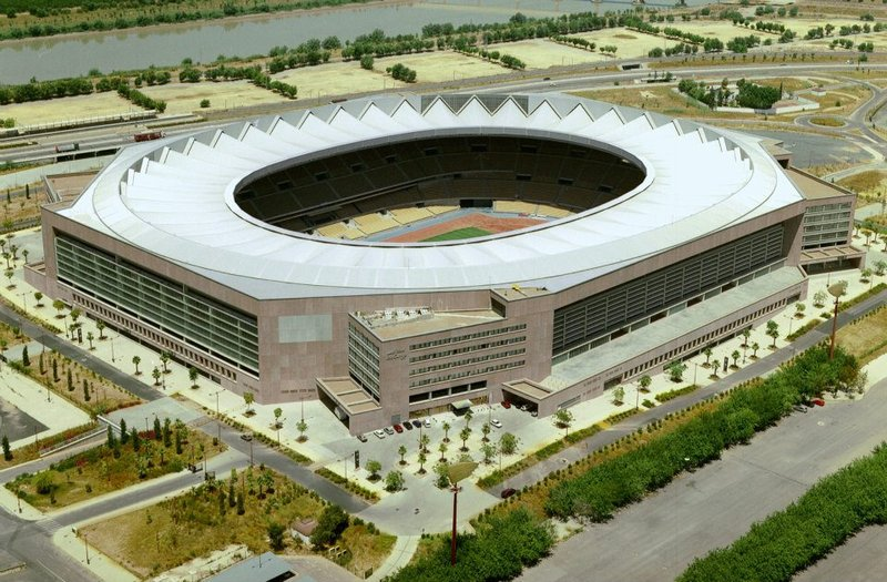 Estadio Olímpico La Cartuja de Sevilla