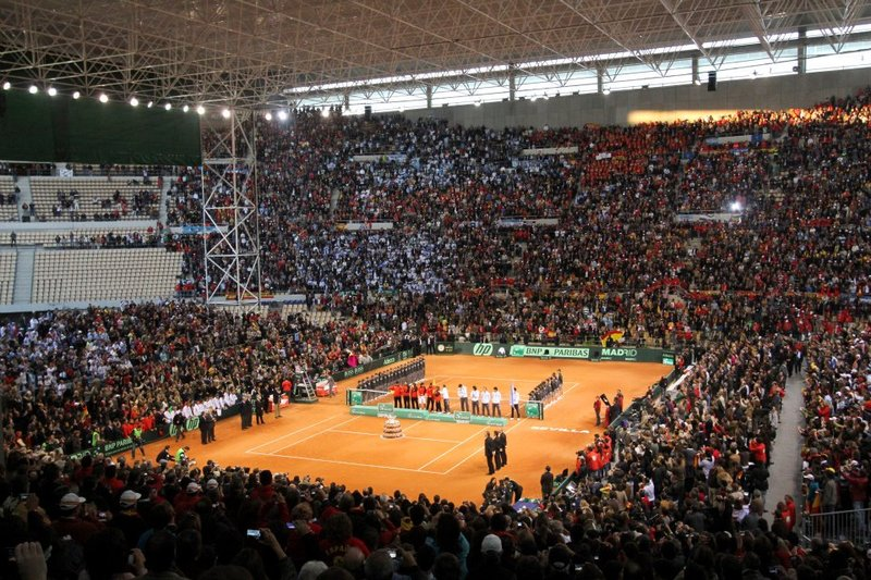 Estadio Olímpico La Cartuja de Sevilla - Final Copa Davis 2011