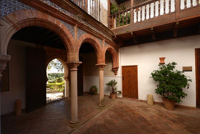 Interior del Palacio Mondragón de Ronda