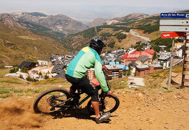 Bike Park Sierra Nevada - Circuito Bulevares