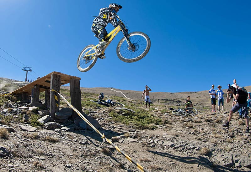 Bike Park Sierra Nevada - Circuito Montebajo