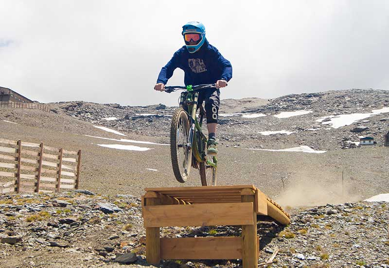 Bike Park Sierra Nevada - Circuito Peñones