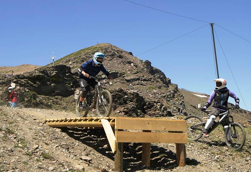 Bike Park Sierra Nevada - Circuito Río