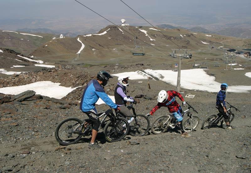 Bike Park Sierra Nevada - Circuito Veleta
