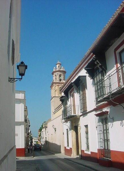 Sanlúcar de Barrameda - Calle típica