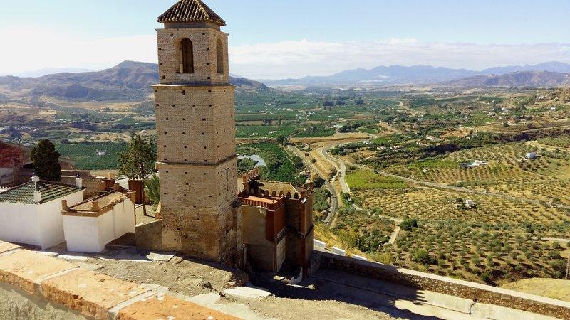 Álora, panorámica desde el Castillo
