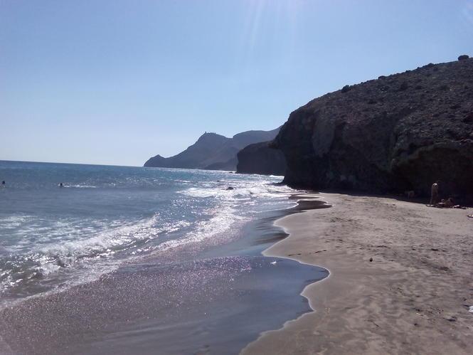 Playa de Monsul, Cabo de Gata.