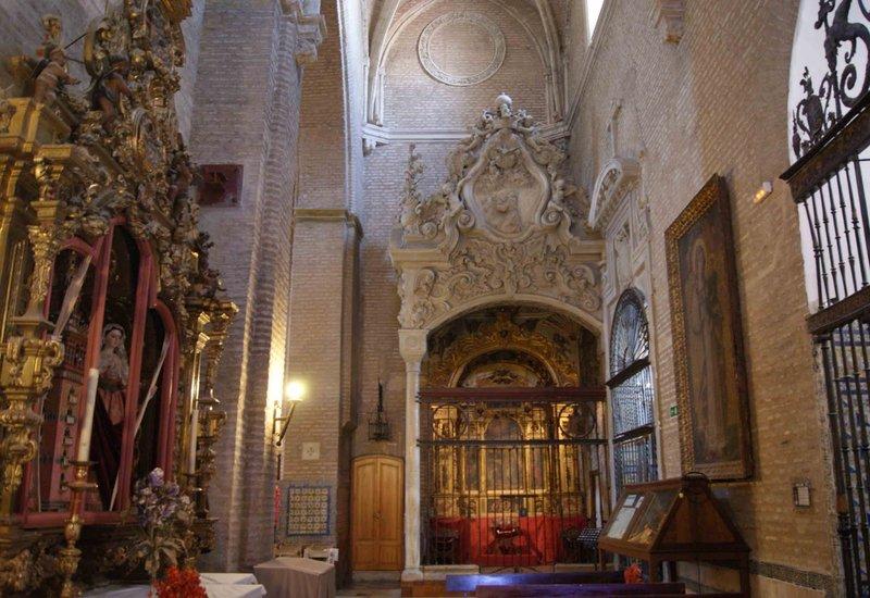 Real Parroquia de Señora Santa Ana - Nave del Evangelio