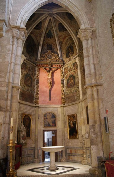 Real Parroquia de Señora Santa Ana - Capilla Bautismal, Cristo del Socorro