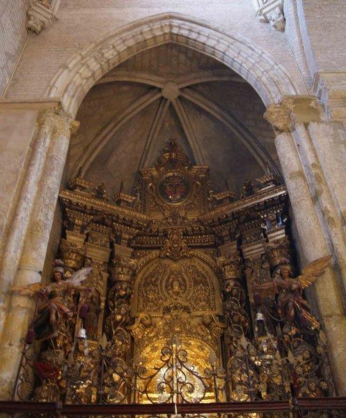 Real Parroquia de Señora Santa Ana - Capilla del Rosario